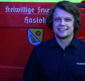 Stellvertretender Jugendwart Tobias Jacob